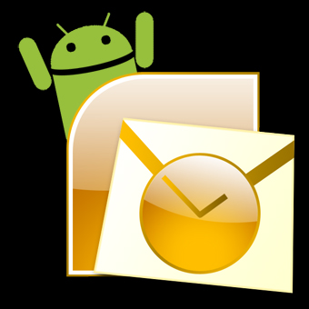 sync outlook with android