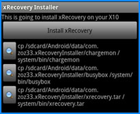xrecovery
