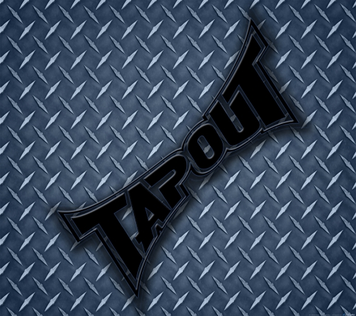 Tapout Blue Diamond Plate Background Mobile